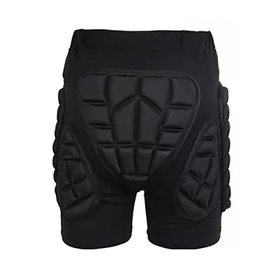cheap Scooters, Skateboarding & Rollers-Impact Shorts for Ski / Snowboard / Ice Skate / Roller Skating Men's / Women's Moisture Wicking / Shockproof / Protection Polyester / EVA 1 Piece Black