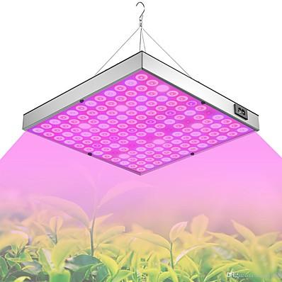 ieftine Lumini Interior-led a crescut lumina cu spectru complet plantă crește 45w 144 perle ușor de instalat evidențierea economiei de energie 85-265 v plante interioare growbox seră legume hidroponice flori și fructe 1p