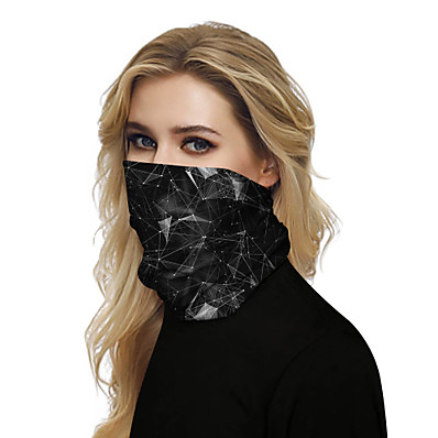 cheap Scarves & Bandanas-Unisex Party / Active / Basic Infinity Scarf - Galaxy / Print / Color Block