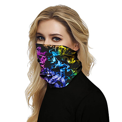 cheap SHOES & ACC-Women's Bandana Balaclava Neck Gaiter Neck Tube UV Resistant Quick Dry Lightweight Materials Cycling Polyester for Men's Women's Adults / Pollution Protection / Floral Botanical Sunscreen / High Breat