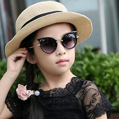 cheap Kids' Glasses-Kids Unisex Solid Colored Glasses Black / Green