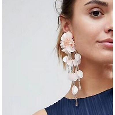 cheap Jewelry-Women's Earrings Geometrical Precious Earrings Jewelry Pink For Daily