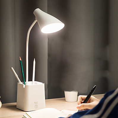 abordables Lampes & Abat-Jour-Lampe de Bureau Protection des Yeux / Ajustable / Lampes ambiantes Moderne contemporain Alimenté par Port USB Pour Bureau / Bureau de maison / Bureau <36V