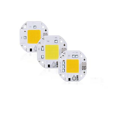abordables Accessoires d'éclairage-haute puissance 100w 70w 50w épi led puce 220v 110v led épi puce soudage diode gratuite pour projecteur projecteur intelligent ic pas besoin de pilote