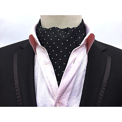 cheap Men's Jewelry-Men's Party / Work / Basic Cravat & Ascot - Print / Jacquard