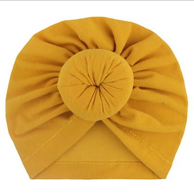 preiswerte Kindermode Accessoires-Kleinkinder Unisex Solide Hüte & Kappen Purpur / Gelb / Rosa Einheitsgröße