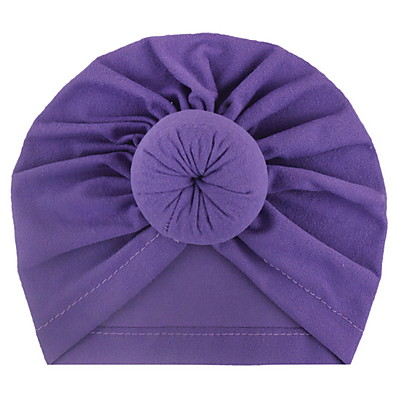 cheap Kids' Accessories-Infant Unisex Solid Colored Hats & Caps Purple / Yellow / Blushing Pink One-Size