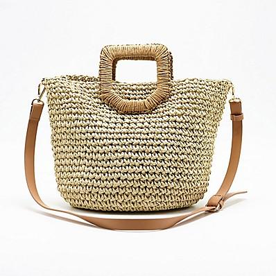 cheap Bags-Women's Bags Straw Crossbody Bag for Daily Beige / Straw Bag