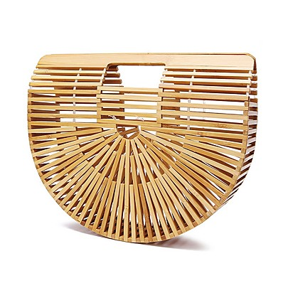 cheap Bags-Women's Bags Straw Top Handle Bag for Daily Khaki / Straw Bag
