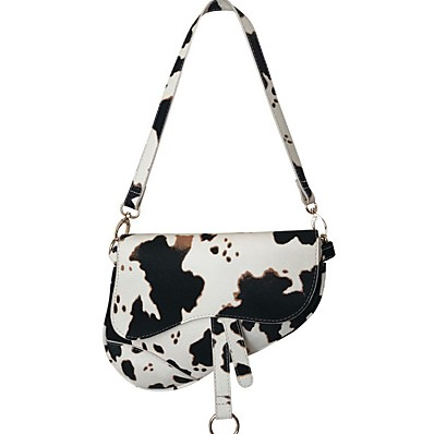 cheap Bags-Women's Bags PU Leather Crossbody Bag Zipper / Chain for Daily White