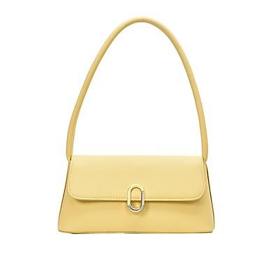 cheap Bags-Women's Zipper PU Leather Crossbody Bag Leather Bag Solid Color White / Black / Purple