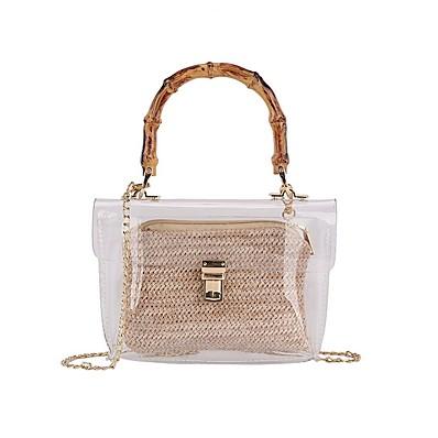 cheap Bags-Women's Bags PU Leather Crossbody Bag for Daily Black / Khaki / Beige