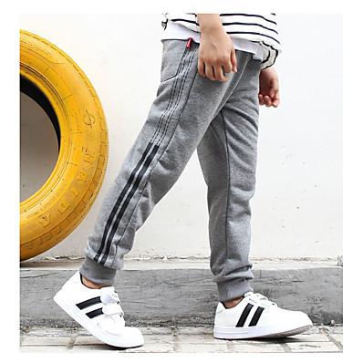 cheap Boys' Clothing-Kids Boys' Basic Solid Colored Pants Black
