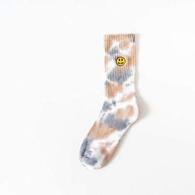 abordables ACCESSORIES-1 paire Homme Chaussettes Impression réactive Chaud Coton EU40-EU46
