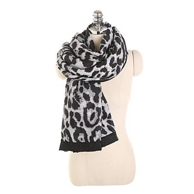cheap ACCESSORIES-Women's Active Rectangle Scarf - Print / Leopard Washable