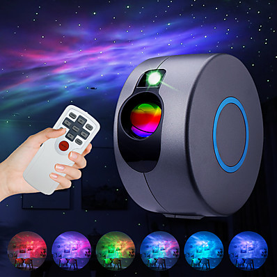 cheap Audio & Video-Star Projector Laser Galaxy Starry Sky Projector  LED Night Light with Remote Night Star Projector with 15 Mode Lighting Shows for For Bedroom and Party Decoration