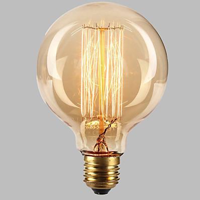 abordables Ampoules électriques-ecolight® e27 40w 3700k ampoule Edison ampoule à incandescence industrielle rétro loft blanc chaud (ac220 ~ 265v)