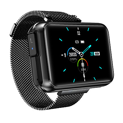 cheap Smart Electronics-HS300 Smartwatch & Earbud 2-in-1 Support Bluetooth Call/Play Music/Siri, Bluetooth 280mah Battery-capacity Fitness Tracker for Apple/ Samsung/ Android Phones