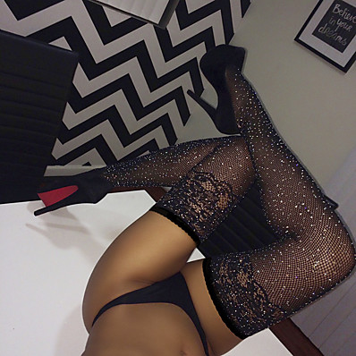 cheap Accessories-Women's Socks Lace / Transparent Stockings 10D Thin Black / Super Sexy