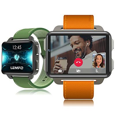 cheap Men's Watches-LEMFO LEM4 PRO Unisex Smartwatch WIFI 3G 4G Waterproof Touch Screen GPS Heart Rate Monitor Blood Pressure Measurement ECG+PPG Timer Pedometer Sleep Tracker Sedentary Reminder