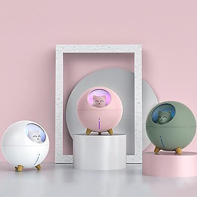 cheap Smart Home-Mini Humidifier Usb Mini Desktop Night Light Humidifier Bedroom Office Cute Cat Cute Pet Humidifier