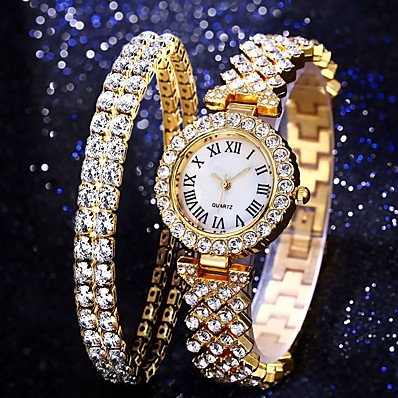 cheap Women's Watches-Women's Quartz Watches Analog Quartz Formal Style Modern Style Luxury Chronograph Creative Casual Watch