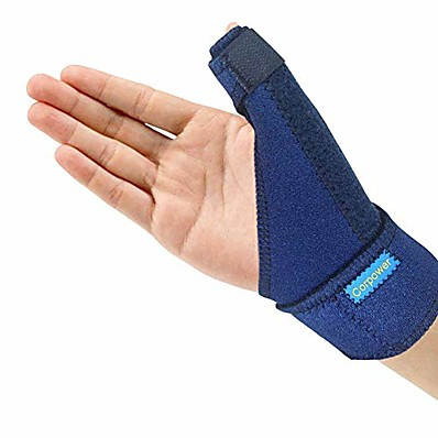 cheap Health & Personal  Care-trigger thumb brace - thumb spica splint - thumb spica stabilizer for pain, sprains, arthritis,tendonitis (right hand or left hand)