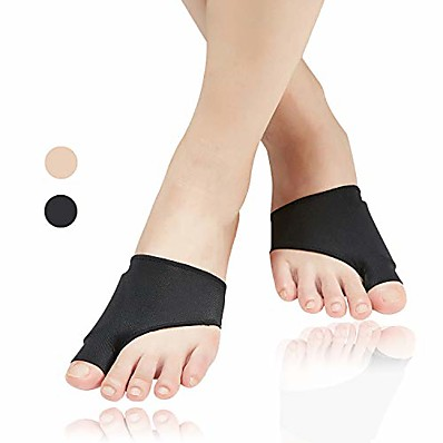 cheap Health & Personal  Care-1 Pair Bunion Corrector Bunion Relief Sleeve with Soft Gel Cushion Reuseable Toe Spacer Socks Bunion Splints Great for Hallux Valgus Big Toe Joint Hammer Toe for Men and Women