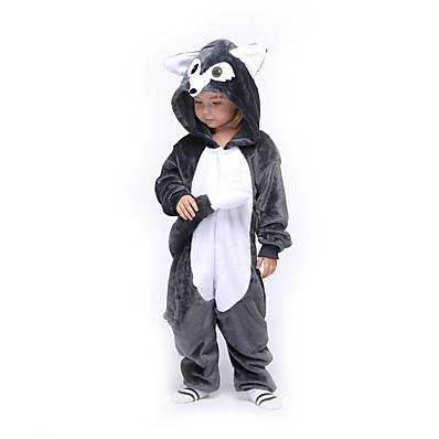 cheap Kids in home-Kids Girls' Active Solid Colored Sleepwear Dark Gray