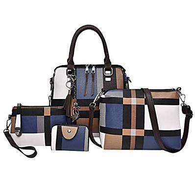cheap Bags-hot sale! clearance!  4pc women bag,todaies women 4 set handbag shoulder bags four pieces tote bag crossbody wallet 2019