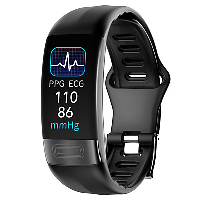 cheap Men's Watches-P11 PLUS Unisex Smart Wristbands Heart Rate Monitor Blood Pressure Measurement Calories Burned Thermometer Health Care ECG+PPG Pedometer Call Reminder Activity Tracker Sleep Tracker