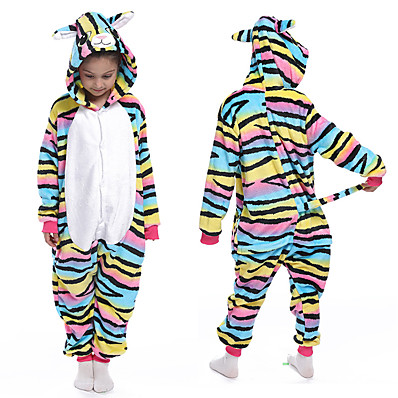 cheap Kids in home-Kids Girls' Active Rainbow Print Sleepwear Rainbow