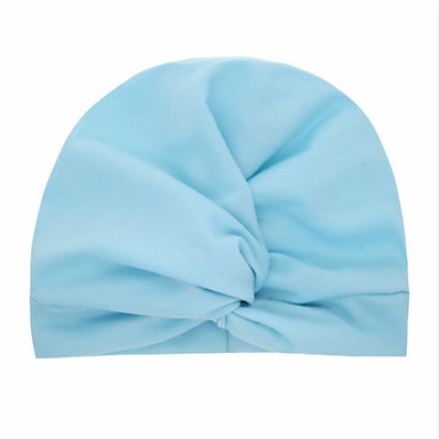 cheap Kids' Accessories-1pcs Toddler / Infant Girls' Basic Black / White / Blue Solid Colored Pure Color Spandex / Cotton Hair Accessories White / Black / Blue One-Size