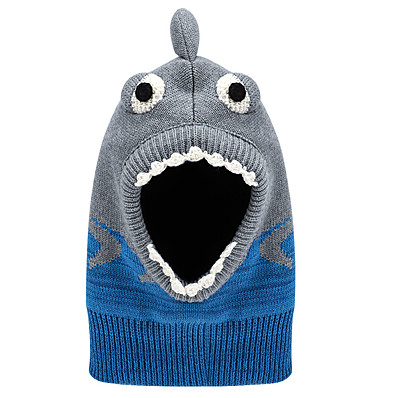 cheap Kids' Accessories-1pcs Infant Unisex Basic Animal Knitting Cotton Hats & Caps Light gray S / M / L