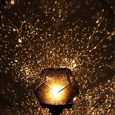 abordables Déco & Lumière De Nuit-led 3d étoilé chevet nuit lampe planetario casero pour enfants bébé pépinière planétarium constellation projecteur nuit scape lumières maison chambre décoration cadeau de noël