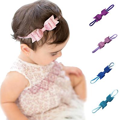 cheap Kids' Accessories-1pcs Toddler Unisex Sweet Cartoon Sequins / Bow Hair Accessories Black / Blue / Purple One-Size