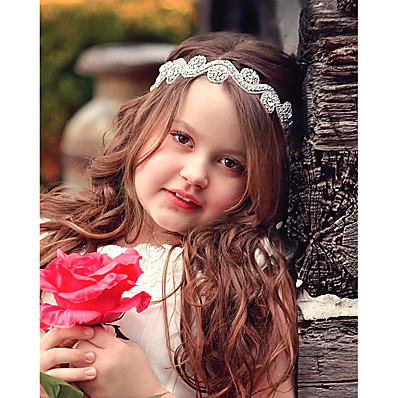 cheap Kids' Accessories-1pcs Kids Girls' Sweet Floral Floral Style Hair Accessories White