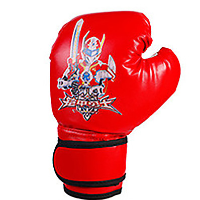 cheap Boxing & Martial Arts-Boxing Gloves For Boxing Full Finger Gloves Breathable Wearproof Protective PU(Polyurethane) Black Red Blue