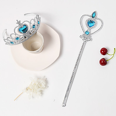 cheap Kids' Accessories-2pcs Kids Girls' Sweet Heart Heart Hair Accessories Blue / Purple / Red One-Size