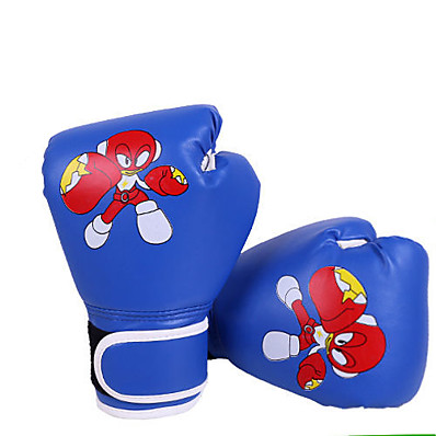 cheap Boxing & Martial Arts-Boxing Gloves For Boxing Full Finger Gloves Breathable Wearproof Protective PU(Polyurethane) Red Blue
