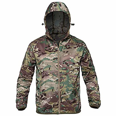 cheap Hunting & Nature-thin army military jackets lightweight quick dry jacket tactical skin jacket cp camo s