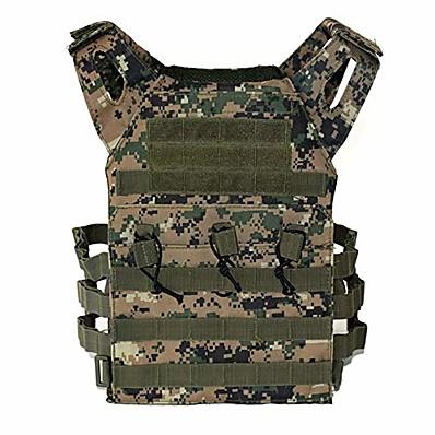 tanie Łowiectwo i przyroda-kamuflażowa kamizelka taktyczna kamizelka wojskowa regulowana oddychająca lekka kamizelka treningowa dla dorosłych;