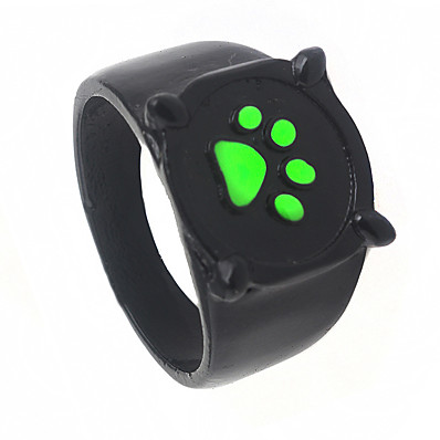 cheap Jewelry & Watches-black cat noir ring anime jewelry ladybug costume rings cosplay accessories for kids women men adults