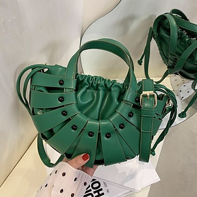 cheap Bags-Women's Bags Crossbody Bag Daily Date Handbags Messenger Bag Yellow Khaki Green Black