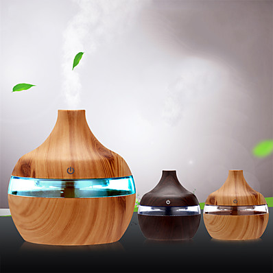 cheap Smart Home-300ml USB Electric Aroma Air Diffuser Ultrasonic air Humidifier Essential Oil Aromatherapy Cool Mist Office/Household USB Aroma Diffuser 300ML