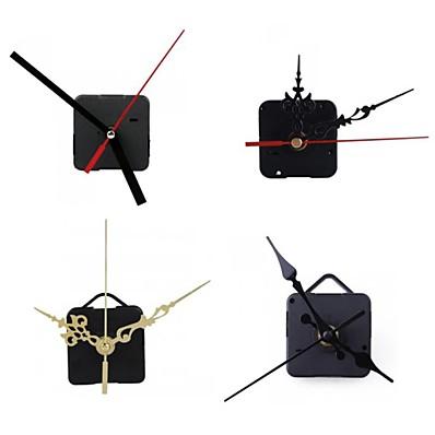 cheap Wall Clocks-Clock Mechanism DIY Kit Mechanism for Clock Parts Wall Clock Quartz Hour Minute Hand Quartz Clock Movement