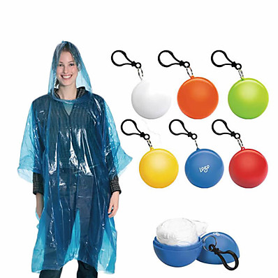 cheap Camping, Hiking & Backpacking-Women's Men's Rain Poncho Hiking Raincoat Rain Jacket Autumn / Fall Winter Spring Summer Outdoor Quick Dry Lightweight Breathable Sweat wicking Poncho Top Hunting Fishing Climbing Blue Red Yellow