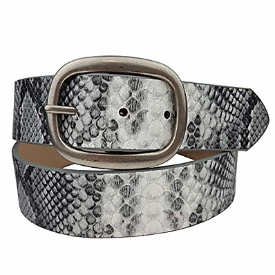 cheap Accessories-Women's Skinny Belt PU Leather Belt Solid Color