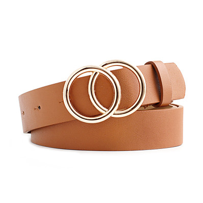 cheap Accessories-Women's Waist Belt Black White Party Wedding Street Daily Belt Pure Color / Red / Fall / Winter / Spring / Summer