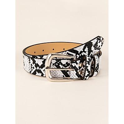 cheap Accessories-Women's Waist Belt Black Party Street Dailywear Holiday Belt Color Block / Basic / Fall / Winter / Spring / Summer